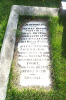 Gravestone– Gravestone found in The General Protestant Cemetery, St. John's, Newfoundland.