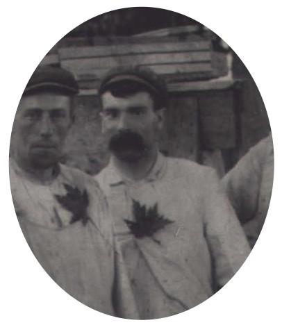 Photo of Alfred Barrett– Alfred Barrett c. 1908 Preston Ontario