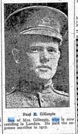 Newspaper Clipping– From: The Wingham Advance Times, 4 Sep 1924