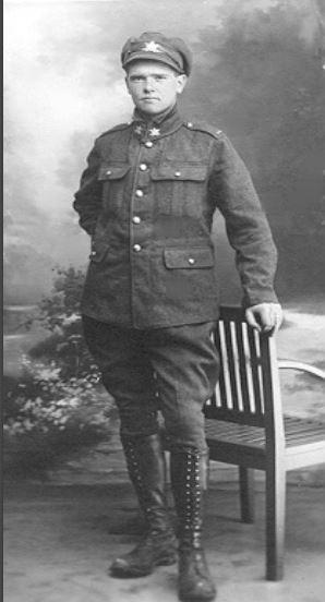 Photo of PAUL EVAN GILLESPIE– Paul Evan Gillespie (Source: Gillespie Family History Newsletter)