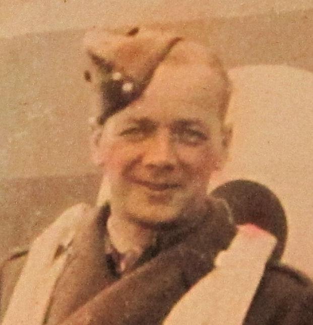 Photo of Alexander James Edmiston– Sergeant Alexander James Edmiston of the Canadian Army Dental Corps. Photo taken August 1941.