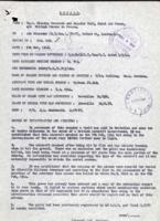 Circumstances of death– Report of crash from November 5, 1946, LAC, Ottawa