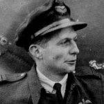 Photo of Lloyd Vernon Chadburn– Wing Commander Lloyd Vernon Chadburn, DSO and bar, DFC of Oshawa and Aurora Ontario, was 25 when he died. (DND Photo number PL15079)