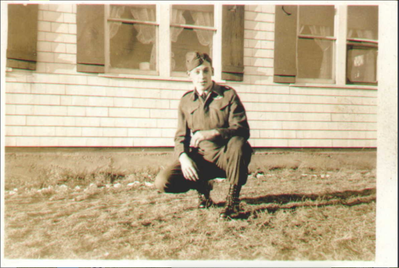 Photo of Gordon Augustus Comeau– Submitted for the project, Operation Picture Me