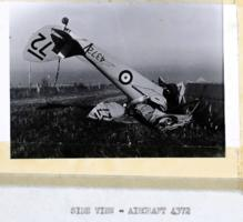 Aircraft crash– Submitted for the project, Operation Picture Me