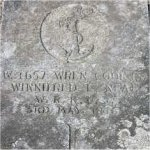 Grave Marker– W-4657 Wren Winnifred L. Neal W.R.C.N.S. died on May 3rd 1946. Photo of her grave in the Hazelwood Cemetery Abbotsford British Columbia.