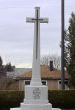 Memorial Cross– Memorial cross in the Mountain View cemetery of Vancouver BC.