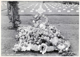 Temporary grave marker– Submitted for the project, Operation Picture Me