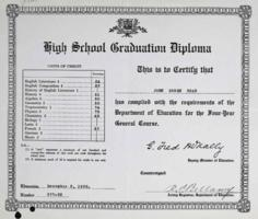 Diploma– Submitted for the project, Operation Picture Me