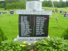 Memorial– Monument dedicated to the memory of the men of Fielding who served in World War II.