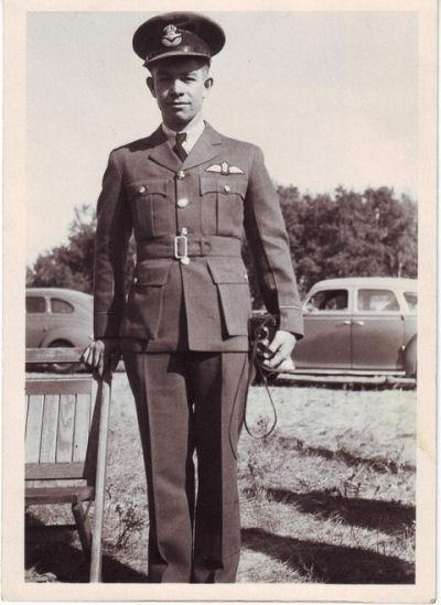 Pilot Officer Brian Allan McCallum