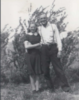 Group Photo– Bertha Loverick and Jim. were engaged to be married. Submitted for the project, Operation Picture Me