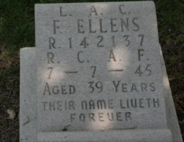 Grave marker– Photo by mrbloggins. Submitted for the project, Operation Picture Me