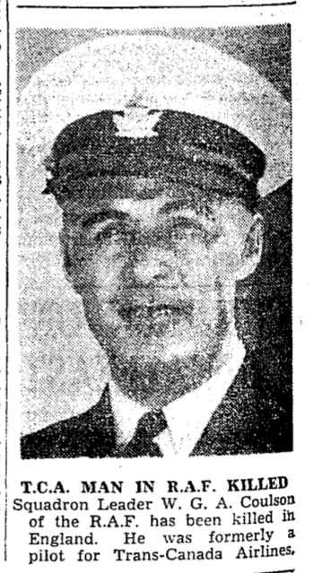 Newspaper clipping– From the Toronto Star August 1940. Submitted for the project Operation Picture Me