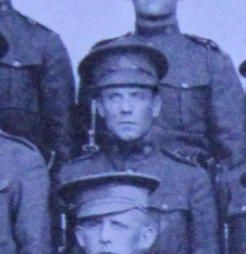Photo of PETER THOMPSON– Enrolled with the 37th Battalion CEF. Submitted for the project, Operation: Picture Me