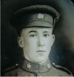 Photo of Oscar Sowden– In his Uniform
