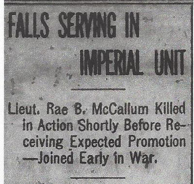 Newspaper clipping– From the Daily Colonist of September 8, 1917. Image taken from web address of http://archive.org/stream/dailycolonist59y234uvic#page/n0/mode/1up