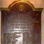 Commemorative Plaque– 1914-18 Memorial Plaque, The University Schools, University of Toronto, 371  Bloor St. West, Toronto, Ontario.  Erected by the U.T.S. Hockey Club,  1919-20.