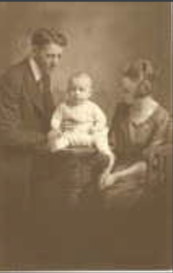 Photo of JACK EDWIN MCINTYRE– Jack with his parents. Submitted for the project Operation Picture Me