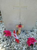 Grave marker– Sint Niklaas Communal Cemetery - May 2019 ... photo courtesy of Marg Liessens