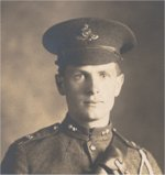 Photo of Murray Benner– Murray Benner in uniform