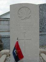 Pierre tombale – Photo gracieusité de Thomas L. Skelding