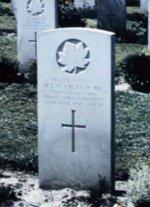 Gravestone of Harry Salmon– Gravestone at Brookwood, Surrey