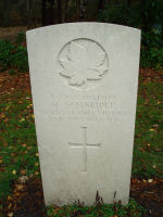 Grave Marker– Grave marker of Max Schneider in Brookwood Cemetery Taken on Remembrance Day 2010