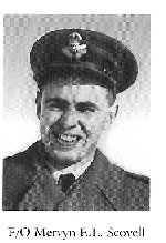 Photo of Mervyn Scovell– From:  University of Toronto Memorial Book Second World War 1939-1945.  The book was published by the Soldiers' Tower Committee, University of Toronto.   Submitted with permission, by Operation Picture Me.