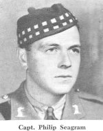 """Photo of Philip Seagram– Captain Philip Seagram was remembered at the """"Thanksgiving for Victory"""" memorial service in Waterloo, Ontario on Sunday, May 20, 1945."""
