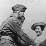 Photo of Philip Frowde Seagram– Captain Philip F. Seagram acting as Aide de Camp to His Majesty King George VI at Aldershot January 1940.
