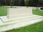 Stone of Remembrance– Stone of Remembrance in Brookwood Cemetery Taken on Remembrance Day 2010