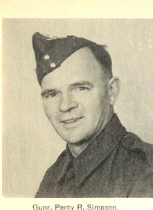 Photo of Percy Roy Simpson