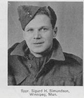 Photo of SIGURD HANS SIMUNDSON– Submitted for the project, Operation Picture Me