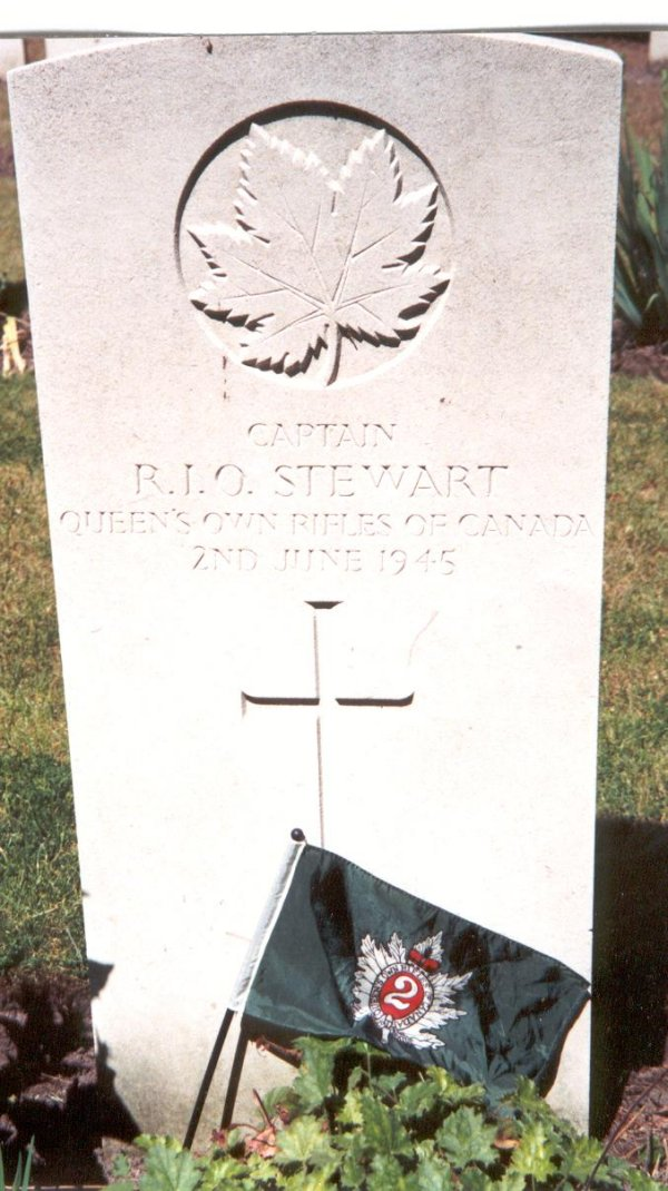 Gravestone of Robert I. O. Stewart
