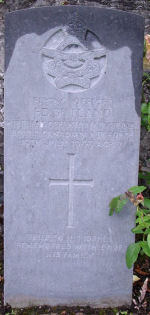 Grave Marker– Grave marker of Frederick Dick Butland. Photo dated 24th June 2007