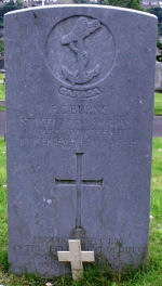Grave Marker– Grave marker of Francis Connolly Burns. Photo dated 29th June 2007.