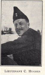 """Essay– Photo and description of Chester Hughes from the book """"From the Rideau to the Rhine and back: the 6th Field Company and Battalion Canadian Engineers in the Great War"""" by K. Weatherbe, published in Toronto in 1928 by Hunter-Rose Co. Ltd."""""""