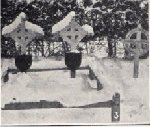 """Gravemarker– Photo of Chester Hughes' gravesite in  the book """"From the Rideau to the Rhine and back: the 6th Field Company and Battalion Canadian Engineers in the Great War"""" by K. Weatherbe, published in Toronto in 1928 by Hunter-Rose Co. Ltd."""""""