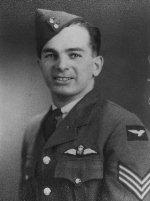 Photo of Emile E.J. Regis– Emile Regis in his airman's uniform.