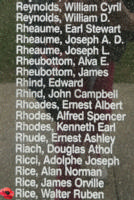 Memorial– Flight Sergeant Walter Ruben Rice is also commemorated on the Bomber Command Memorial Wall in Nanton, AB … photo courtesy of Marg Liessens