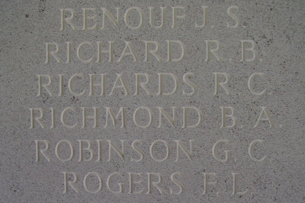 Inscription– Inscription - Runnymede Memorial - September 2010 … photo courtesy of Marg Liessens