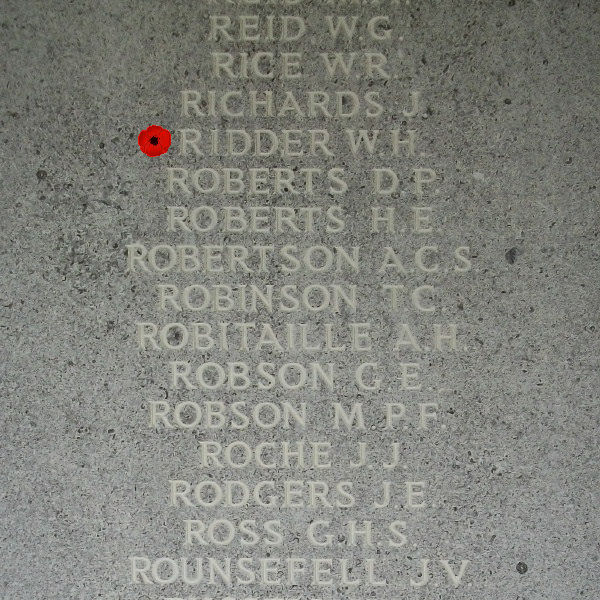 Memorial– Inscription - Runnymede Memorial - April 2017 … photo courtesy of Marg Liessens