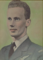 Picture of Eugene Edwin Rideout– Son of Edward H. and Florence Rideout of Badger, Newfoundland.