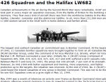 426 Squadron and the Halifax LW682