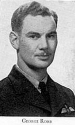 Photo of George Robb– Picture from West Hill High School Annual 1944 (Montreal). Photo supplied by McGill University.