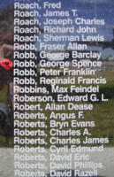 Memorial– Warrant Officer Class Ii George Spence Robb is also commemorated on the Bomber Command Memorial Wall in Nanton, AB … photo courtesy of Marg Liessens