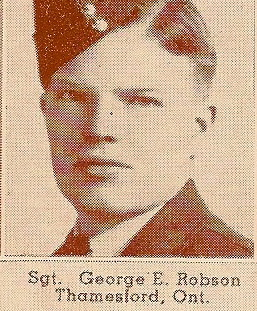 Photo of George Robson– Submitted for the project, Operation: Picture Me