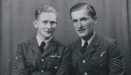 Photo of John Bennett Charters and Thomas Roche