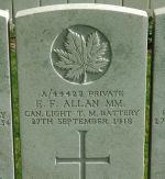 Grave Marker– Grave marker of Emmett